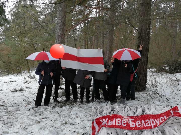 Как белорусы отметили 200 дней протестов