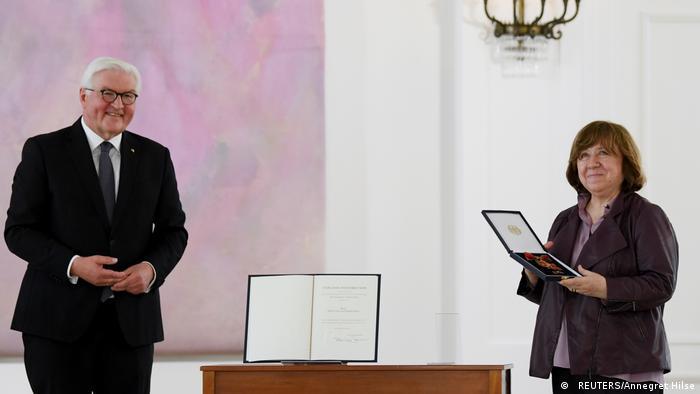 Светлане Алексиевич вручили одну из высших наград Германии